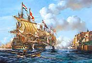 Пазл на 2000 деталей «Битва Порто Белло 1739 г.», C-200245, купить