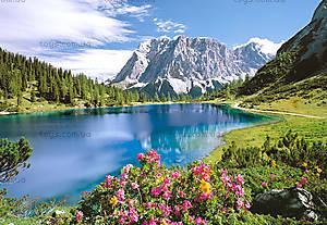 Пазл на 2000 деталей «Горное озеро», C-200115