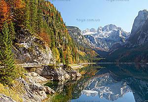 Пазл на 2000 деталей «Горное озеро в Австрии», C-200368