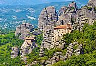 Пазл на 2000 деталей «Монастырь, Греция», C-200306, фото