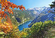 Пазл на 2000 деталей «Начало осени в горах», C-200399, купить