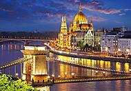 Пазл на 2000 деталей «Панорама Будапешта в сумерках», C-200405, купить