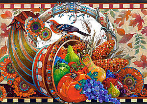 Пазл на 2000 деталей «Рог Изобилия», C-200467