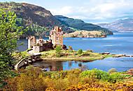 Пазл на 2000 деталей «Замок Eilean Donan, Шотландия», C-200016, игрушка