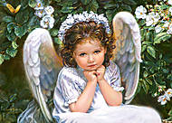 Пазл на 260 деталей «Маленький Ангел», B-27286, купить