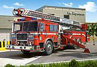 Пазл на 260 деталей «Пожарная машина», B-26760