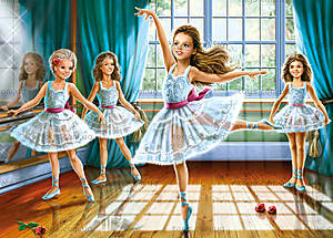 Пазл на 260 деталей «Школа балета», B-27231