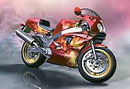 Пазл на 260 деталей «Yamaha FZR-750 R», B-26623