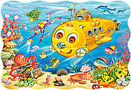 Пазл на 30 деталей «Подводная лодка», B-03396, фото