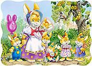Пазл на 30 деталей «Семья Кроликов», B-03112