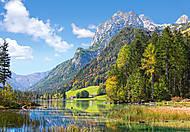 Пазл на 3000 деталей «Горный пейзаж в Альпах», C-300273, фото