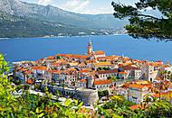 Пазл на 3000 деталей «Корчула, Хорватия», C-300266, фото