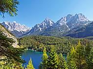 Пазл на 3000 деталей «Озеро в Альпах, Австрия», C-300242, набор