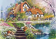 Пазл на 3000 деталей «Поместье с озером», C-300327, купить