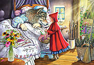 Пазл на 40 деталей Maxi «Красная Шапочка», B-040070