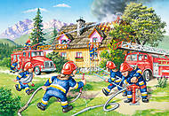 Пазл на 40 деталей Maxi «Пожарная бригада», B-040025, купить