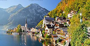 Пазл на 4000 деталей «Гальштат, Австрия», C-400041