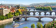 Пазл на 4000 деталей «Мосты Влтава в Праге», C-400096, цена
