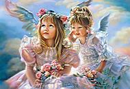 Пазл на 500 деталей «Ангелы», В-51762