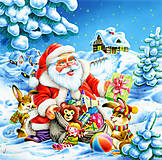 Пазл на 500 деталей «Дед Мороз и Новый Год», В-51977, купить