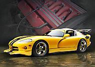 Пазл на 500 деталей «Dodge Viper», В-51618, фото