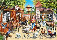 Пазл на 500 деталей «Ферма», В-51908, купить