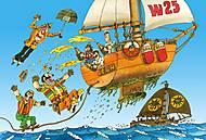 Пазл на 500 деталей «Капитан Врунгель», В-51274, игрушки