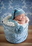 Пазл на 500 деталей «Малыш в корзине», В-51922, фото
