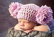 Пазл на 500 деталей «Малыш в шапке», В-51915, фото
