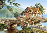 Пазл на 500 деталей «Мост коттед », В-51694