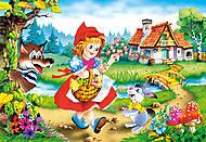 Пазл на 500 деталей «Сказки - Красная шапочка», В-50680