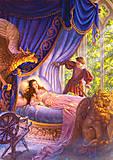 Пазл на 500 деталей «Сказки - Спящая красавица», В-51533, купить