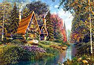 Пазл на 500 деталей «Сказочный дом», В-51472
