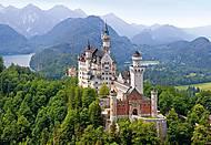 Пазл на 500 деталей «Замок Нойшванштайн, Германия», В-51342, купить