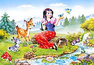 Пазл на 60 деталей «Белоснежка», B-06199, фото