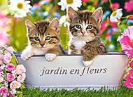 Пазл на 60 деталей «Два котёнка», B-06496, купить