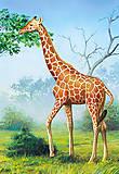 Пазл на 60 деталей «Жираф», B-06397