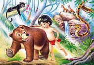 Пазл на 60 деталей «Маугли», B-06229, фото