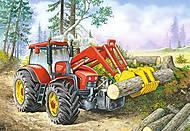 Пазл на 60 деталей «Трактор», B-06366