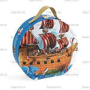 Пазл напольный «Пиратский корабль», 39 частей, J02819