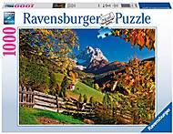 Пазл «Осенние горы» 1000 элментов, RSV-194230, фото