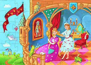 Пазл «Принцесса и лягушка», 36 деталей, DJ07221, купить