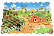 Пазл-раскраска Same Toy «Ферма», 2035Ut