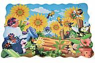 Пазл-раскраска Same Toy «Жуки на заднем дворе», 2032Ut, купить