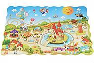 Пазл-раскраска Same Toy «Парк развлечений», 2033Ut, купить