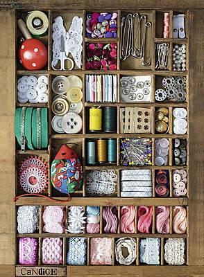 Пазл Ravensburger «Швейная коробка», 500 элементов, 14352, купить