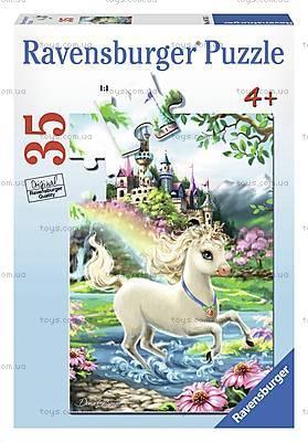 Пазл Ravensburger «Замок Единорога», 35 элементов, 08765R