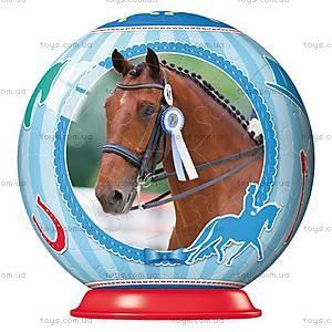 Пазл-шар Ravensburger «Спортивные лошади», 54 элемента, 11909
