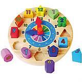 Пазл Viga Toys «Часы», 59235