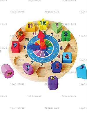 Обучающий пазл для малышей «Часы», 59235VG